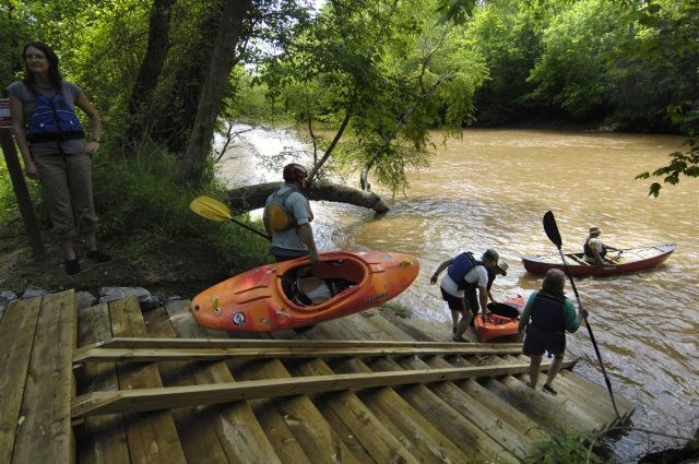 CLC Reopens Spencer Mt  River Access Canoe/Kayak Launch