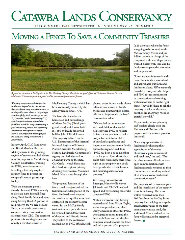 catawba-lands-newsletter-summer-fall-2013