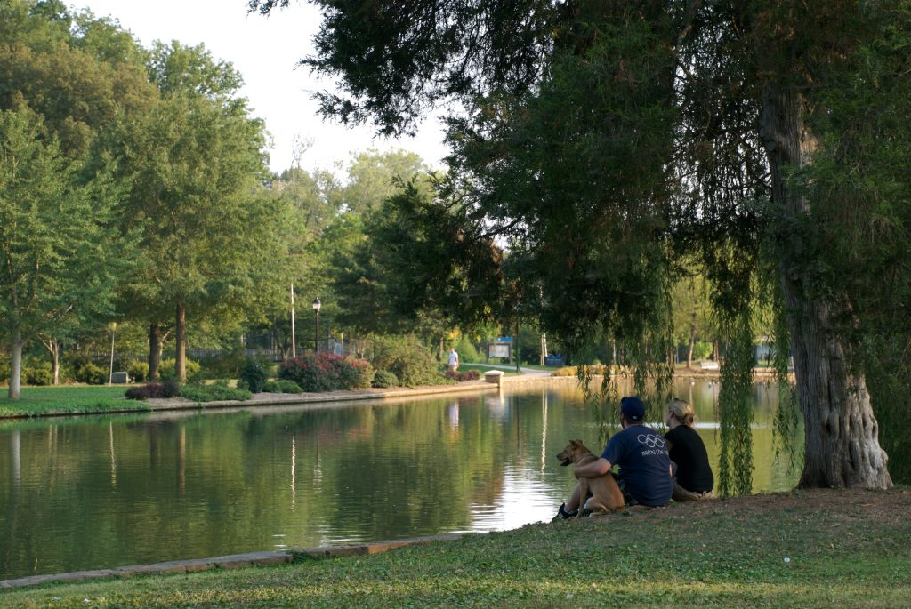 Freedom Park along Little Sugar Creek Greenway